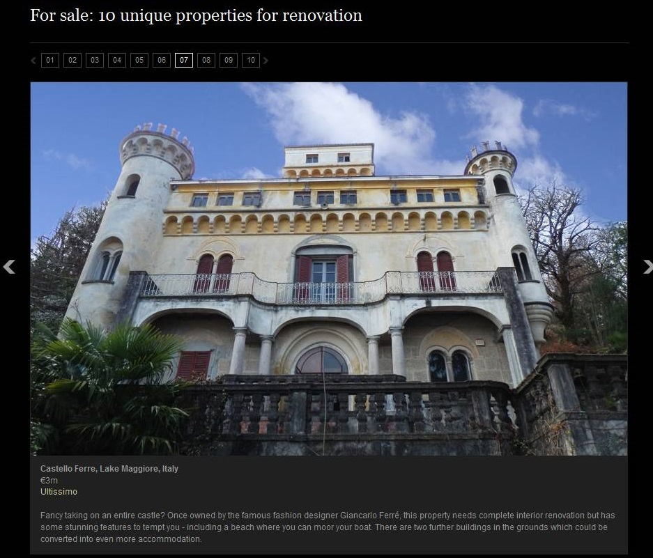 Daily Telegraph - Renovation Properties