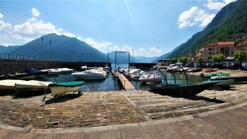 The Port of Argegno