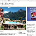 The Times – Fall in Love with Lake Como