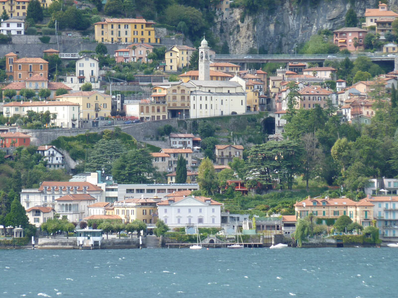 Moltrasio on Lake Como