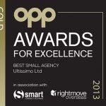 OPP Best Small Agent 2013
