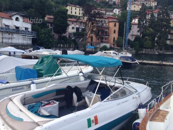 Powerboat on Lake Como