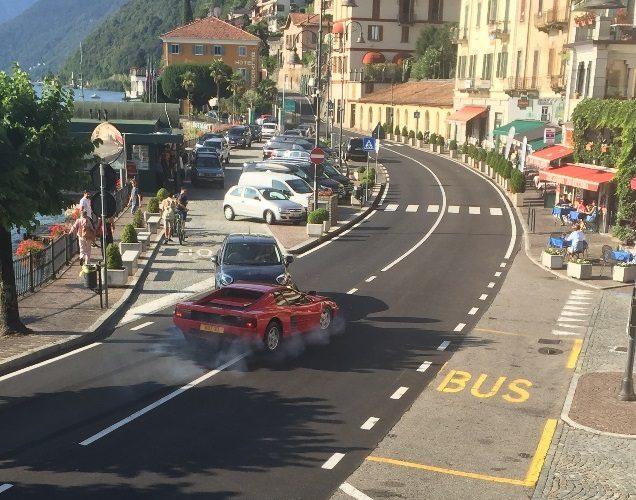 Netflix Murder Mystery Argegno Ferrari Crash