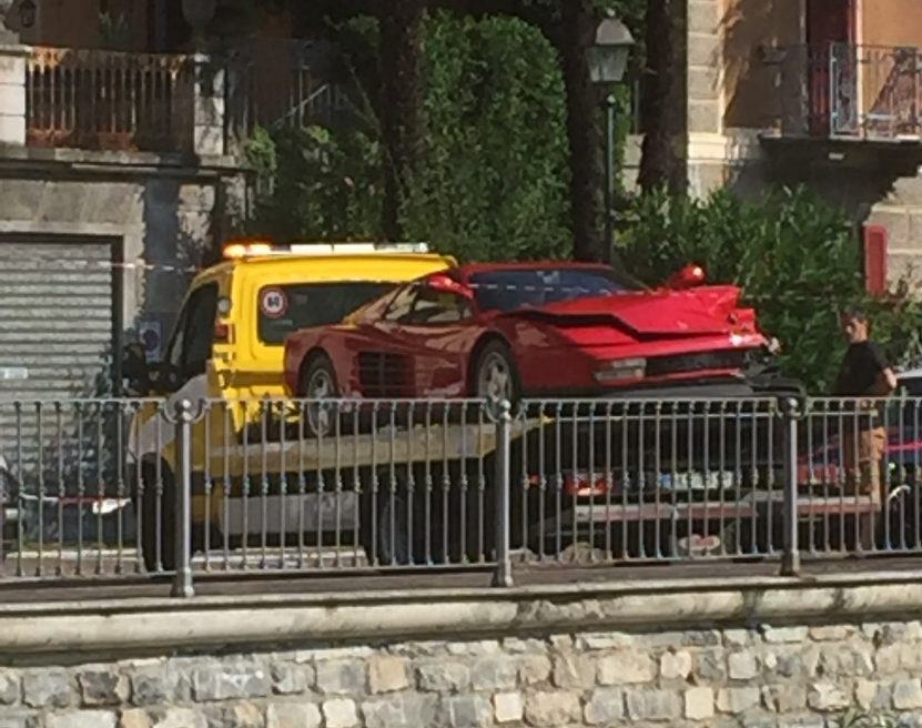 Netflix Murder Mystery Argegno Ferrari Wreck